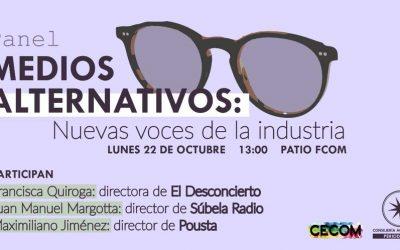 "Panel ""Medios Alternativos"""