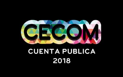 Cuenta Pública CECOM 2018